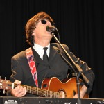 The Australian Beatles Show. Steve Stanley as Paul McCartney in the 3Bs Beatles Show